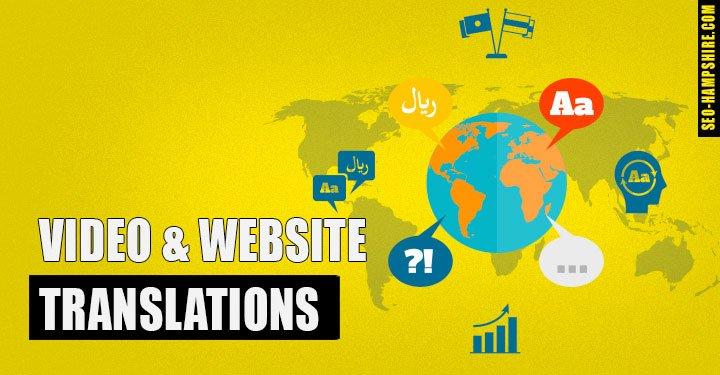 Video & Website Translation Service -SEO Hampshire