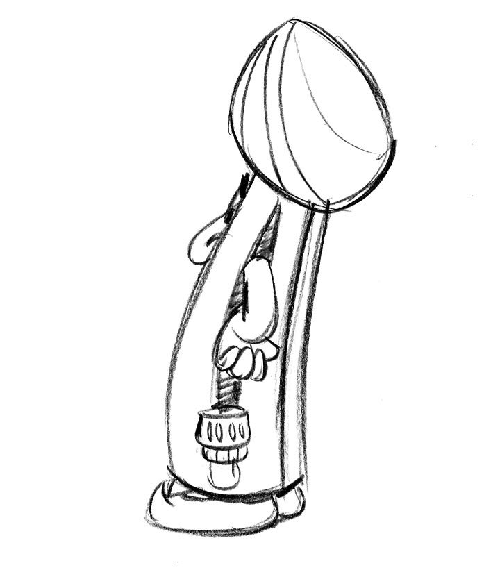 Character Designs From Pencil Drawings - BoodleBobs Raj Side - Content Creation SEO Hampshire