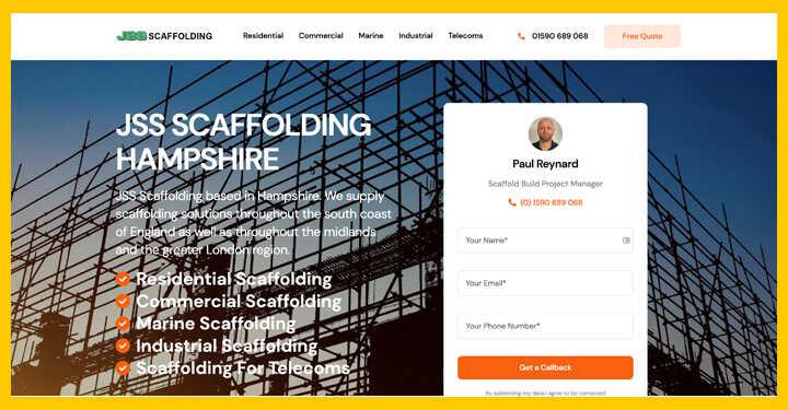 Brand Development Online SEO WordPress Content Design - SEO Hampshire