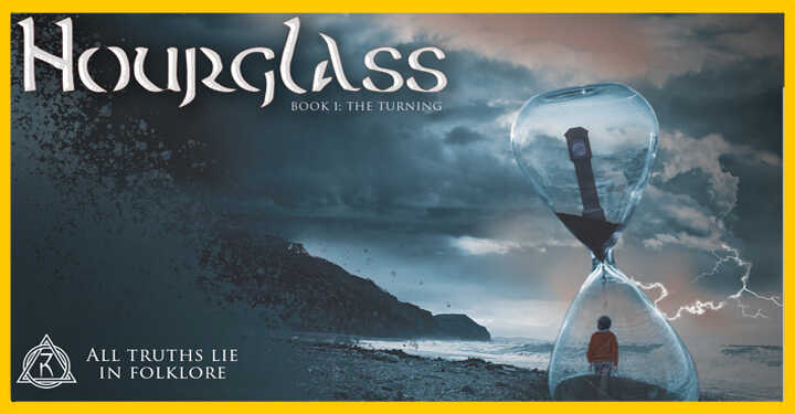 Brand & Fantasy Book Cover Design & WordPress Website For The Hourglass Sci-Fi Book Series Default Image