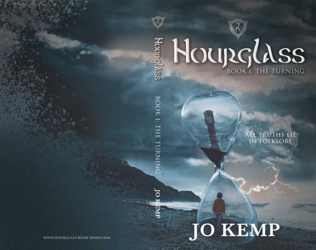 Design Work Hourglass Book Cover SEO Hampshire
