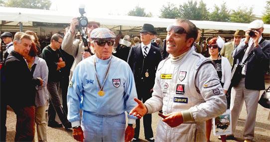 Calum Lockie And Sir Jackie Stewart