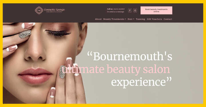 Technical SEO Project For VIP Cosmetic Lounge